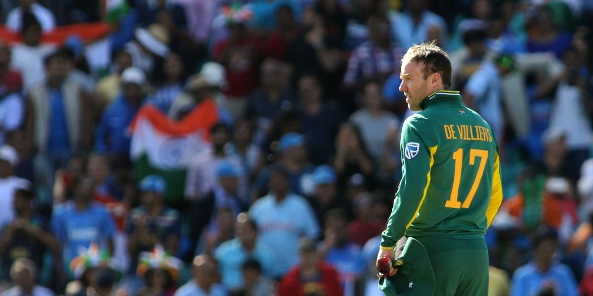 Is AB de Villiers a genius at other sports?