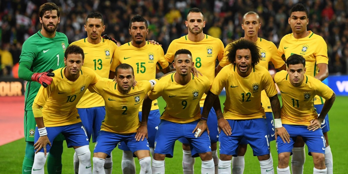 Was the Brazil Football Team attacked by fans?